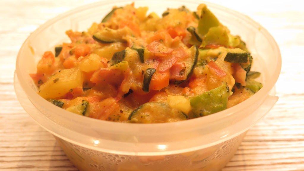 Meal Prep Wochenrezept #3: Fisch - Gemüse - Pfanne