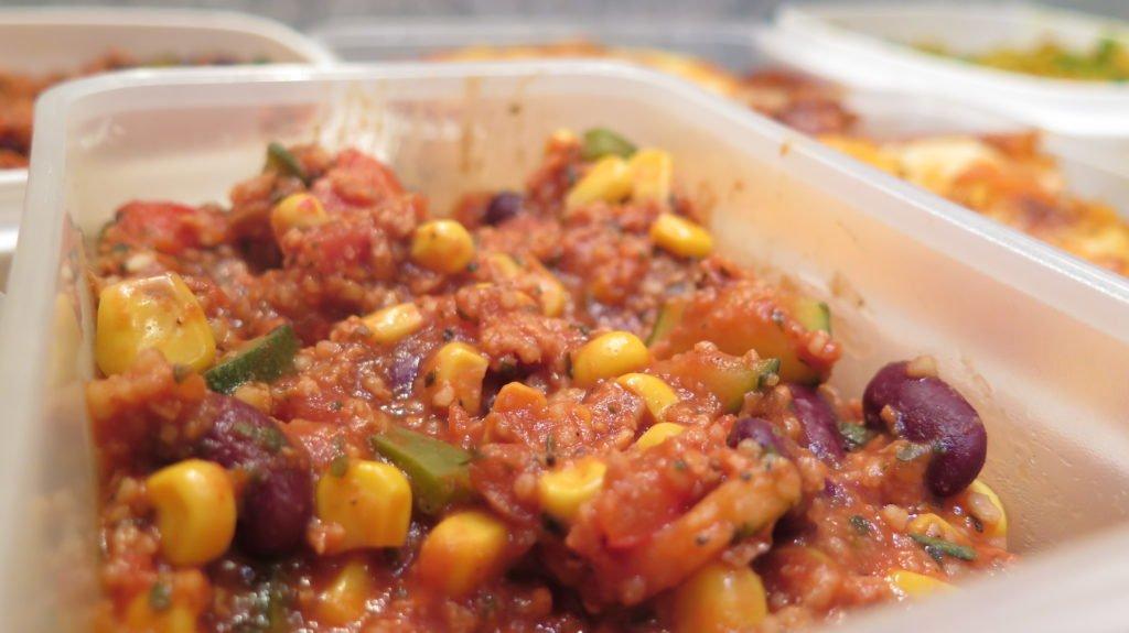 Meal Prep Wochenrezept #3: Vegetarisches Chili