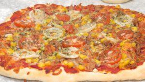 Einfaches schnelles Pizza Teig Rezept