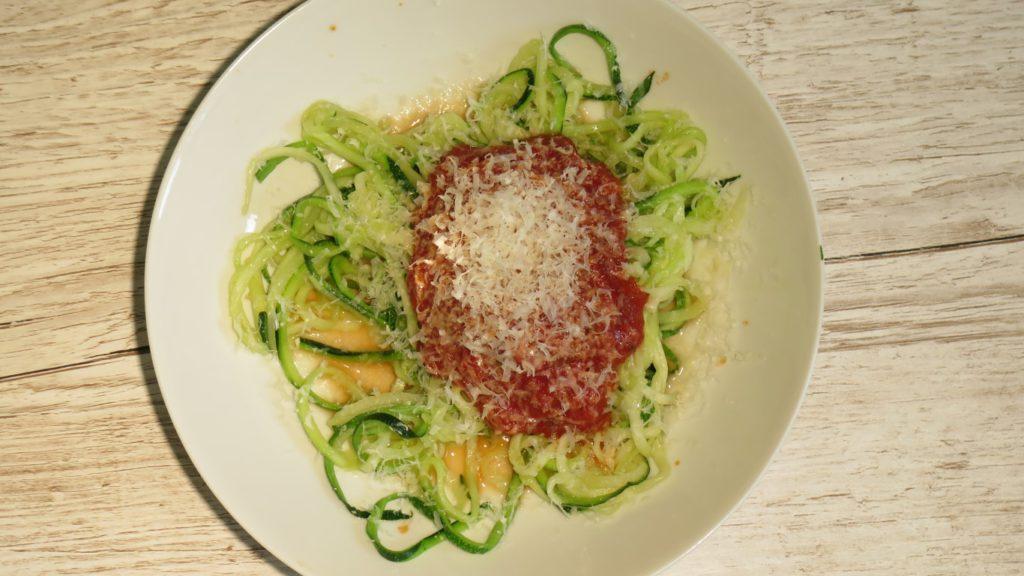 Zucchini Spaghetti Rezept