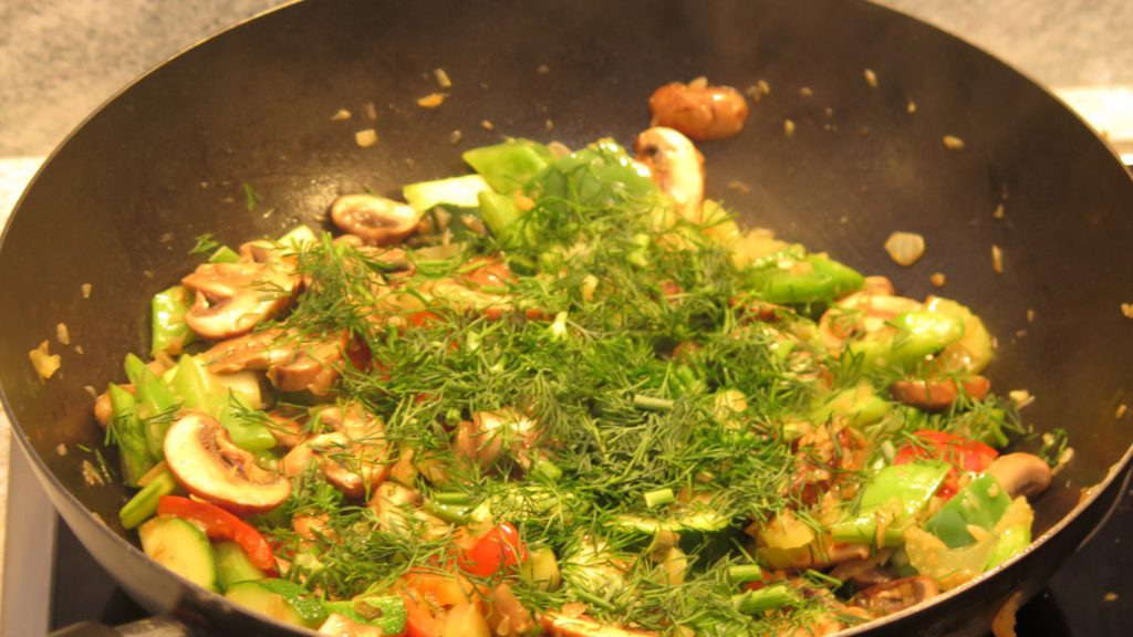 Meal Prep Rezept: Spagetti mit Pilze und Sahne