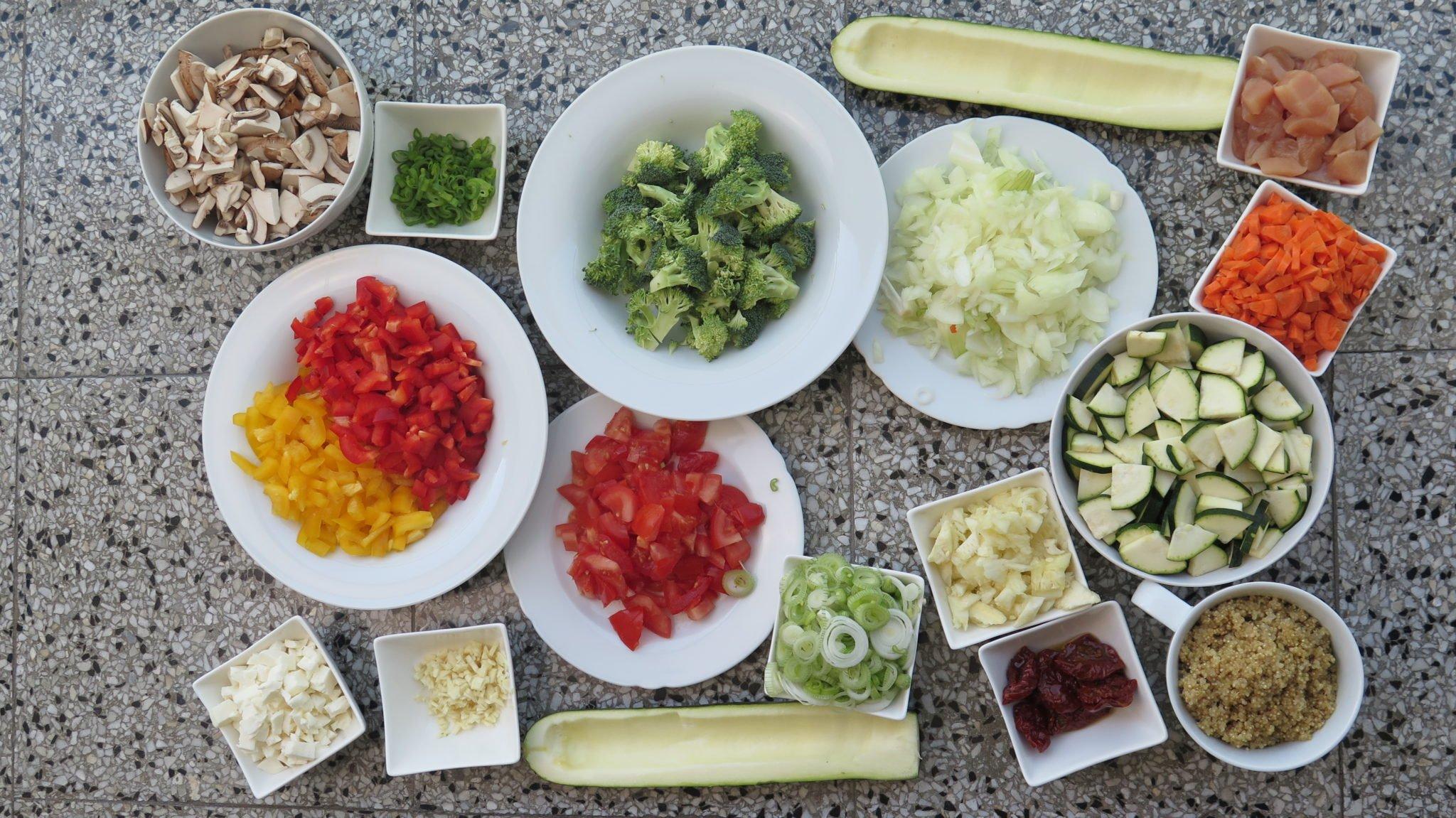 Unsere Vorbereitung für das Meal Prep Wochenrezept #5